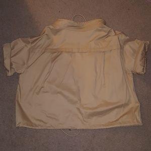 Lauren Ralph Lauren Jackets & Coats - Short sleeve khaki jacket